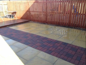 Patio Pressure Cleaning After