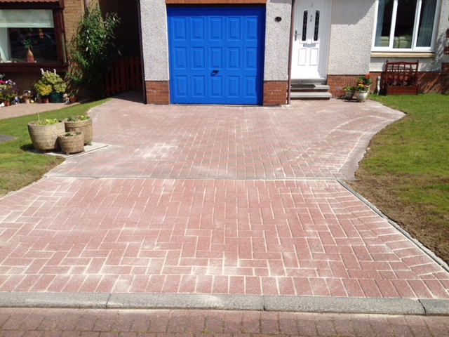 driveway clean Baillieston After