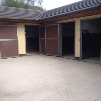 Stables After Pressure Clean